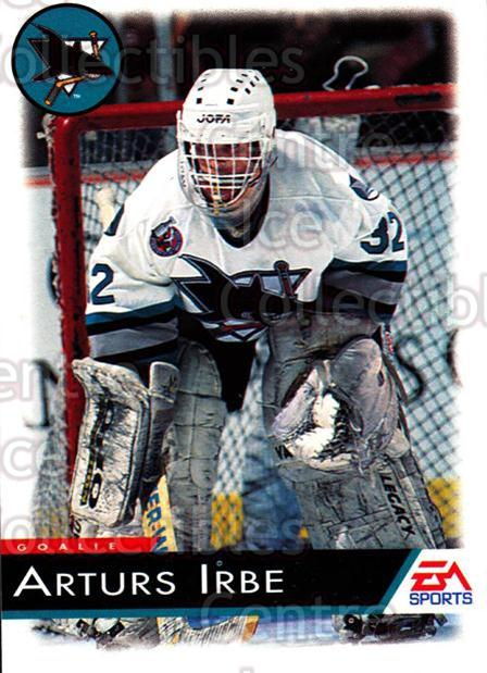 1994 EA Sports #120 Arturs Irbe<br/>1 In Stock - $1.00 each - <a href=https://centericecollectibles.foxycart.com/cart?name=1994%20EA%20Sports%20%23120%20Arturs%20Irbe...&quantity_max=1&price=$1.00&code=2541 class=foxycart> Buy it now! </a>