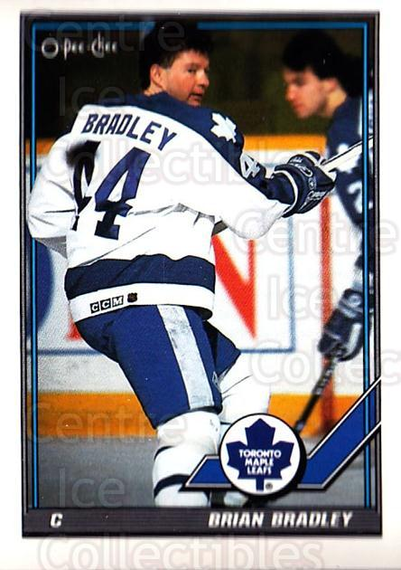 1991-92 O-Pee-Chee #234 Brian Bradley<br/>5 In Stock - $1.00 each - <a href=https://centericecollectibles.foxycart.com/cart?name=1991-92%20O-Pee-Chee%20%23234%20Brian%20Bradley...&quantity_max=5&price=$1.00&code=254201 class=foxycart> Buy it now! </a>