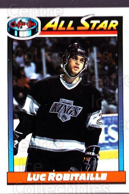 1991-92 O-Pee-Chee #260 Luc Robitaille<br/>5 In Stock - $1.00 each - <a href=https://centericecollectibles.foxycart.com/cart?name=1991-92%20O-Pee-Chee%20%23260%20Luc%20Robitaille...&quantity_max=5&price=$1.00&code=254227 class=foxycart> Buy it now! </a>