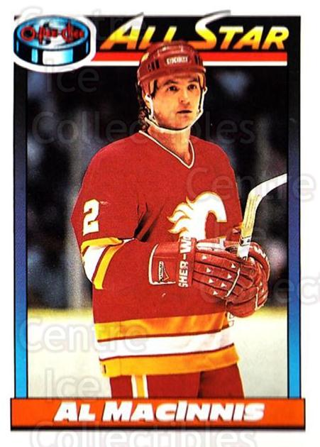 1991-92 O-Pee-Chee #262 Al MacInnis<br/>4 In Stock - $1.00 each - <a href=https://centericecollectibles.foxycart.com/cart?name=1991-92%20O-Pee-Chee%20%23262%20Al%20MacInnis...&quantity_max=4&price=$1.00&code=254229 class=foxycart> Buy it now! </a>