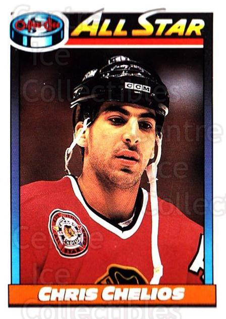 1991-92 O-Pee-Chee #268 Chris Chelios<br/>4 In Stock - $1.00 each - <a href=https://centericecollectibles.foxycart.com/cart?name=1991-92%20O-Pee-Chee%20%23268%20Chris%20Chelios...&quantity_max=4&price=$1.00&code=254235 class=foxycart> Buy it now! </a>