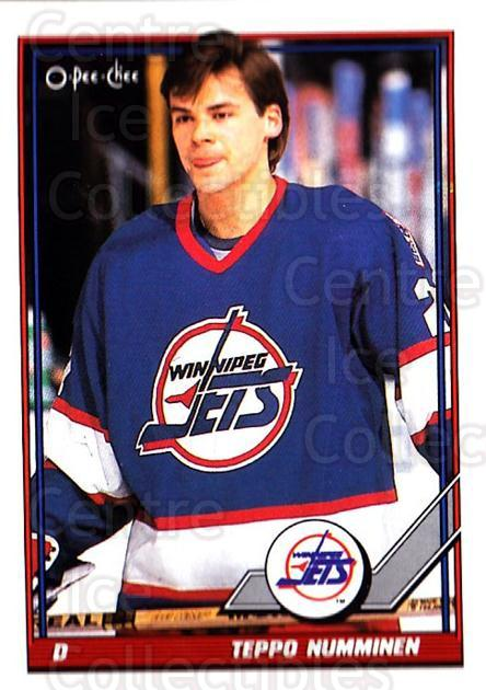 1991-92 O-Pee-Chee #274 Teppo Numminen<br/>5 In Stock - $1.00 each - <a href=https://centericecollectibles.foxycart.com/cart?name=1991-92%20O-Pee-Chee%20%23274%20Teppo%20Numminen...&quantity_max=5&price=$1.00&code=254241 class=foxycart> Buy it now! </a>