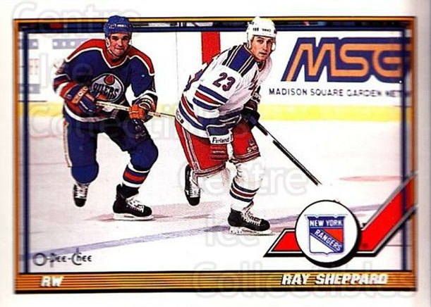 1991-92 O-Pee-Chee #289 Ray Sheppard<br/>5 In Stock - $1.00 each - <a href=https://centericecollectibles.foxycart.com/cart?name=1991-92%20O-Pee-Chee%20%23289%20Ray%20Sheppard...&quantity_max=5&price=$1.00&code=254256 class=foxycart> Buy it now! </a>
