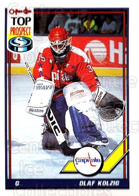 1991-92 O-Pee-Chee #290 Olaf Kolzig<br/>3 In Stock - $1.00 each - <a href=https://centericecollectibles.foxycart.com/cart?name=1991-92%20O-Pee-Chee%20%23290%20Olaf%20Kolzig...&quantity_max=3&price=$1.00&code=254257 class=foxycart> Buy it now! </a>