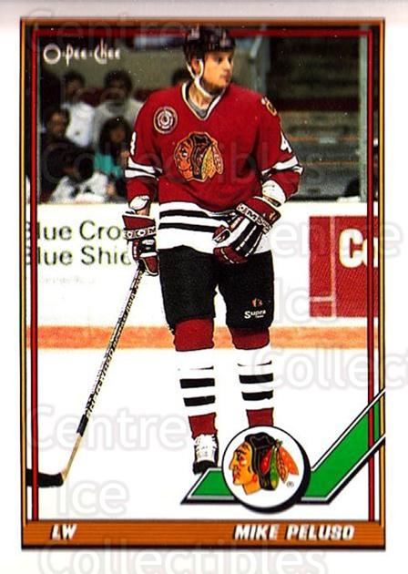1991-92 O-Pee-Chee #293 Mike Peluso<br/>4 In Stock - $1.00 each - <a href=https://centericecollectibles.foxycart.com/cart?name=1991-92%20O-Pee-Chee%20%23293%20Mike%20Peluso...&quantity_max=4&price=$1.00&code=254260 class=foxycart> Buy it now! </a>