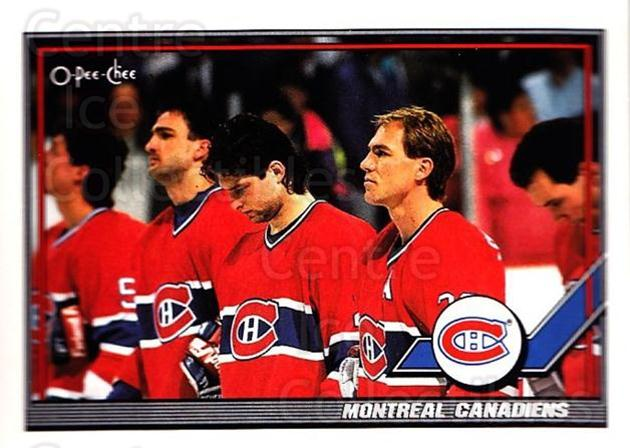 1991-92 O-Pee-Chee #298 Montreal Canadiens<br/>3 In Stock - $1.00 each - <a href=https://centericecollectibles.foxycart.com/cart?name=1991-92%20O-Pee-Chee%20%23298%20Montreal%20Canadi...&quantity_max=3&price=$1.00&code=254265 class=foxycart> Buy it now! </a>