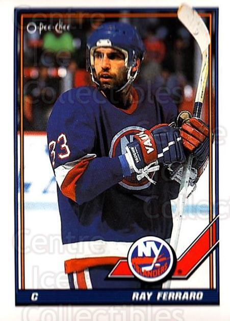1991-92 O-Pee-Chee #304 Ray Ferraro<br/>5 In Stock - $1.00 each - <a href=https://centericecollectibles.foxycart.com/cart?name=1991-92%20O-Pee-Chee%20%23304%20Ray%20Ferraro...&quantity_max=5&price=$1.00&code=254271 class=foxycart> Buy it now! </a>