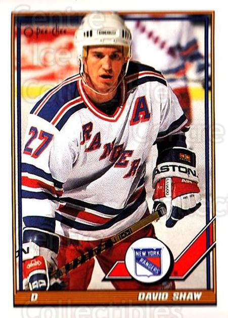 1991-92 O-Pee-Chee #306 David Shaw<br/>5 In Stock - $1.00 each - <a href=https://centericecollectibles.foxycart.com/cart?name=1991-92%20O-Pee-Chee%20%23306%20David%20Shaw...&quantity_max=5&price=$1.00&code=254273 class=foxycart> Buy it now! </a>