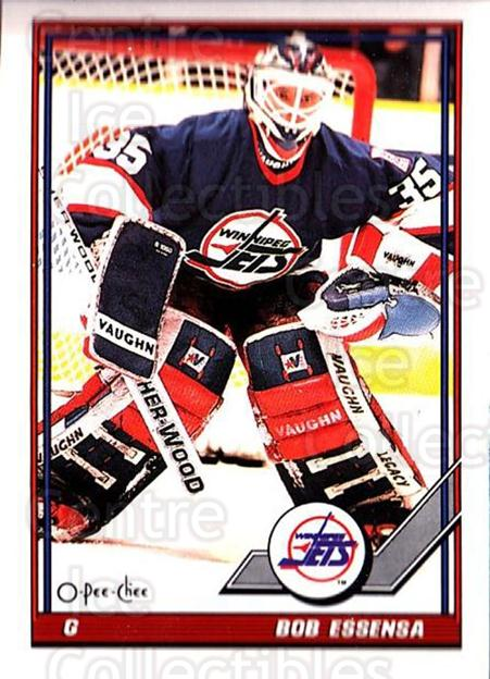 1991-92 O-Pee-Chee #307 Bob Essensa<br/>5 In Stock - $1.00 each - <a href=https://centericecollectibles.foxycart.com/cart?name=1991-92%20O-Pee-Chee%20%23307%20Bob%20Essensa...&quantity_max=5&price=$1.00&code=254274 class=foxycart> Buy it now! </a>