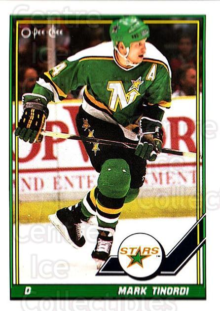 1991-92 O-Pee-Chee #308 Mark Tinordi<br/>5 In Stock - $1.00 each - <a href=https://centericecollectibles.foxycart.com/cart?name=1991-92%20O-Pee-Chee%20%23308%20Mark%20Tinordi...&quantity_max=5&price=$1.00&code=254275 class=foxycart> Buy it now! </a>