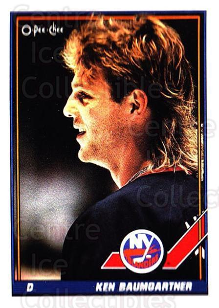 1991-92 O-Pee-Chee #316 Ken Baumgartner<br/>5 In Stock - $1.00 each - <a href=https://centericecollectibles.foxycart.com/cart?name=1991-92%20O-Pee-Chee%20%23316%20Ken%20Baumgartner...&quantity_max=5&price=$1.00&code=254283 class=foxycart> Buy it now! </a>