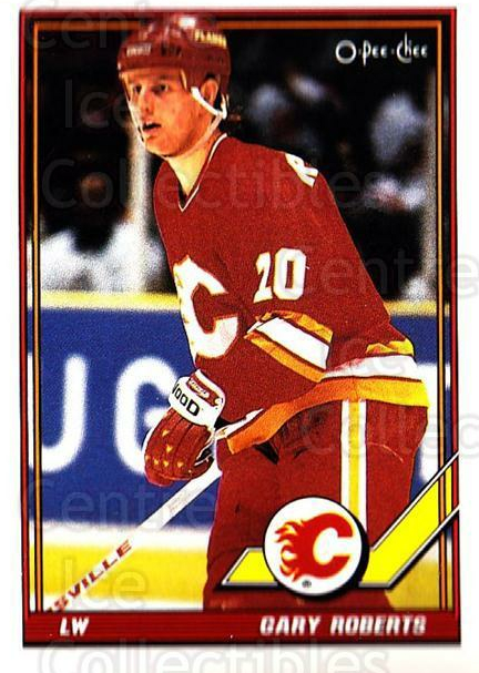 1991-92 O-Pee-Chee #320 Gary Roberts<br/>5 In Stock - $1.00 each - <a href=https://centericecollectibles.foxycart.com/cart?name=1991-92%20O-Pee-Chee%20%23320%20Gary%20Roberts...&quantity_max=5&price=$1.00&code=254287 class=foxycart> Buy it now! </a>