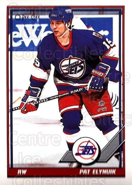 1991-92 O-Pee-Chee #326 Pat Elynuik<br/>6 In Stock - $1.00 each - <a href=https://centericecollectibles.foxycart.com/cart?name=1991-92%20O-Pee-Chee%20%23326%20Pat%20Elynuik...&quantity_max=6&price=$1.00&code=254293 class=foxycart> Buy it now! </a>