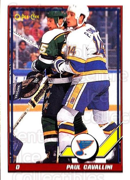 1991-92 O-Pee-Chee #328 Paul Cavallini<br/>6 In Stock - $1.00 each - <a href=https://centericecollectibles.foxycart.com/cart?name=1991-92%20O-Pee-Chee%20%23328%20Paul%20Cavallini...&quantity_max=6&price=$1.00&code=254295 class=foxycart> Buy it now! </a>