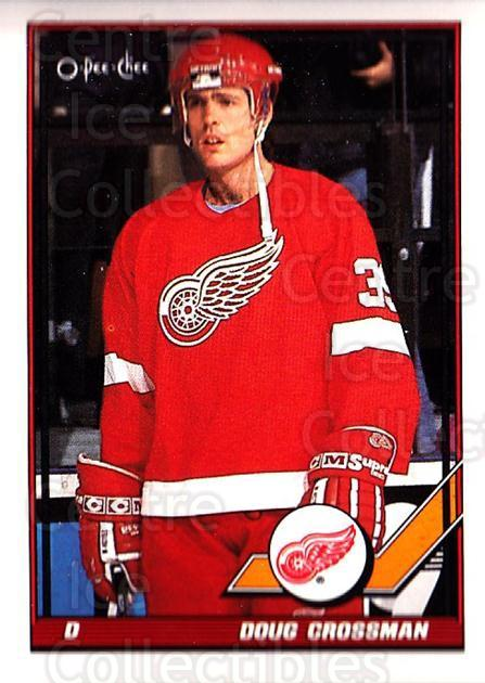 1991-92 O-Pee-Chee #341 Doug Crossman<br/>4 In Stock - $1.00 each - <a href=https://centericecollectibles.foxycart.com/cart?name=1991-92%20O-Pee-Chee%20%23341%20Doug%20Crossman...&quantity_max=4&price=$1.00&code=254308 class=foxycart> Buy it now! </a>