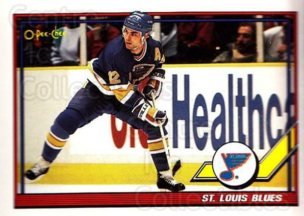 1991-92 O-Pee-Chee #347 St. Louis Blues<br/>4 In Stock - $1.00 each - <a href=https://centericecollectibles.foxycart.com/cart?name=1991-92%20O-Pee-Chee%20%23347%20St.%20Louis%20Blues...&quantity_max=4&price=$1.00&code=254314 class=foxycart> Buy it now! </a>