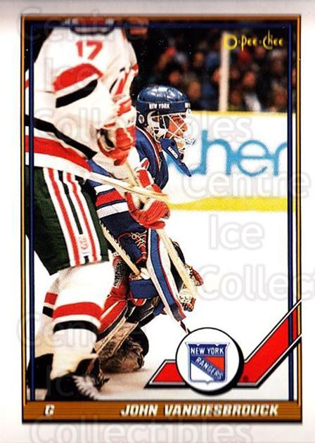 1991-92 O-Pee-Chee #353 John Vanbiesbrouck<br/>5 In Stock - $1.00 each - <a href=https://centericecollectibles.foxycart.com/cart?name=1991-92%20O-Pee-Chee%20%23353%20John%20Vanbiesbro...&quantity_max=5&price=$1.00&code=254320 class=foxycart> Buy it now! </a>
