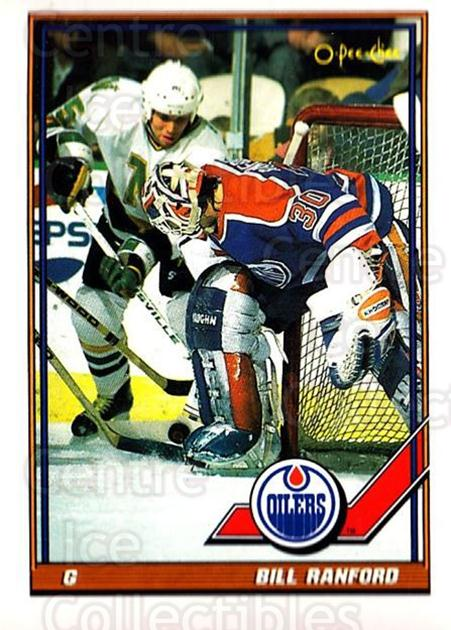 1991-92 O-Pee-Chee #356 Bill Ranford<br/>4 In Stock - $1.00 each - <a href=https://centericecollectibles.foxycart.com/cart?name=1991-92%20O-Pee-Chee%20%23356%20Bill%20Ranford...&quantity_max=4&price=$1.00&code=254323 class=foxycart> Buy it now! </a>