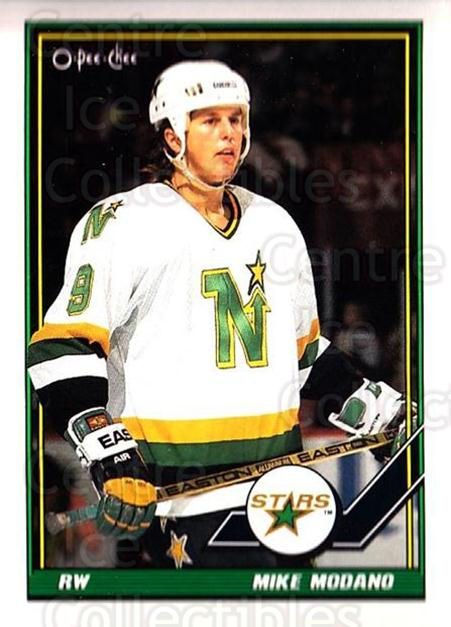 1991-92 O-Pee-Chee #367 Mike Modano<br/>5 In Stock - $1.00 each - <a href=https://centericecollectibles.foxycart.com/cart?name=1991-92%20O-Pee-Chee%20%23367%20Mike%20Modano...&quantity_max=5&price=$1.00&code=254334 class=foxycart> Buy it now! </a>