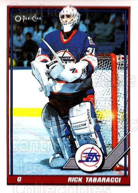 1991-92 O-Pee-Chee #375 Rick Tabaracci<br/>5 In Stock - $1.00 each - <a href=https://centericecollectibles.foxycart.com/cart?name=1991-92%20O-Pee-Chee%20%23375%20Rick%20Tabaracci...&quantity_max=5&price=$1.00&code=254342 class=foxycart> Buy it now! </a>