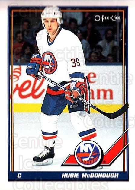 1991-92 O-Pee-Chee #389 Hubie McDonough<br/>4 In Stock - $1.00 each - <a href=https://centericecollectibles.foxycart.com/cart?name=1991-92%20O-Pee-Chee%20%23389%20Hubie%20McDonough...&quantity_max=4&price=$1.00&code=254356 class=foxycart> Buy it now! </a>