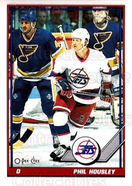 1991-92 O-Pee-Chee #395 Phil Housley<br/>4 In Stock - $1.00 each - <a href=https://centericecollectibles.foxycart.com/cart?name=1991-92%20O-Pee-Chee%20%23395%20Phil%20Housley...&quantity_max=4&price=$1.00&code=254362 class=foxycart> Buy it now! </a>