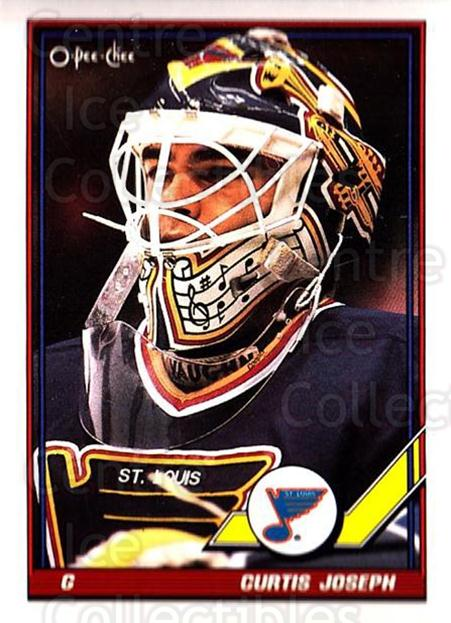 1991-92 O-Pee-Chee #417 Curtis Joseph<br/>5 In Stock - $1.00 each - <a href=https://centericecollectibles.foxycart.com/cart?name=1991-92%20O-Pee-Chee%20%23417%20Curtis%20Joseph...&quantity_max=5&price=$1.00&code=254384 class=foxycart> Buy it now! </a>