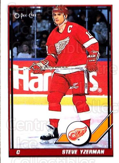 1991-92 O-Pee-Chee #424 Steve Yzerman<br/>5 In Stock - $1.00 each - <a href=https://centericecollectibles.foxycart.com/cart?name=1991-92%20O-Pee-Chee%20%23424%20Steve%20Yzerman...&price=$1.00&code=254391 class=foxycart> Buy it now! </a>