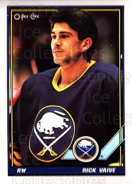 1991-92 O-Pee-Chee #457 Rick Vaive<br/>6 In Stock - $1.00 each - <a href=https://centericecollectibles.foxycart.com/cart?name=1991-92%20O-Pee-Chee%20%23457%20Rick%20Vaive...&quantity_max=6&price=$1.00&code=254424 class=foxycart> Buy it now! </a>