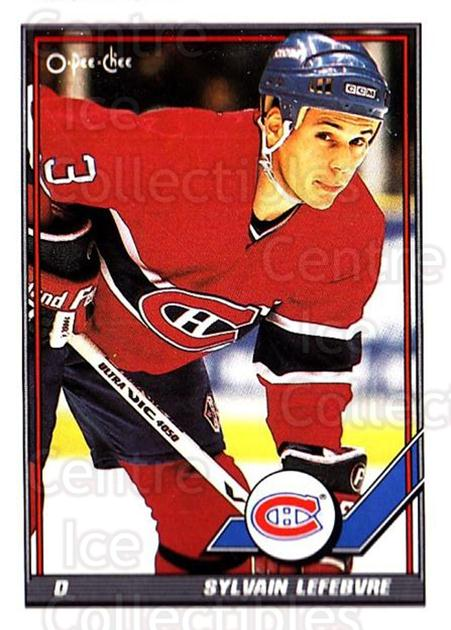 1991-92 O-Pee-Chee #489 Sylvain Lefebvre<br/>6 In Stock - $1.00 each - <a href=https://centericecollectibles.foxycart.com/cart?name=1991-92%20O-Pee-Chee%20%23489%20Sylvain%20Lefebvr...&quantity_max=6&price=$1.00&code=254456 class=foxycart> Buy it now! </a>