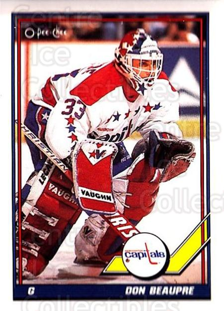 1991-92 O-Pee-Chee #505 Don Beaupre<br/>5 In Stock - $1.00 each - <a href=https://centericecollectibles.foxycart.com/cart?name=1991-92%20O-Pee-Chee%20%23505%20Don%20Beaupre...&quantity_max=5&price=$1.00&code=254472 class=foxycart> Buy it now! </a>