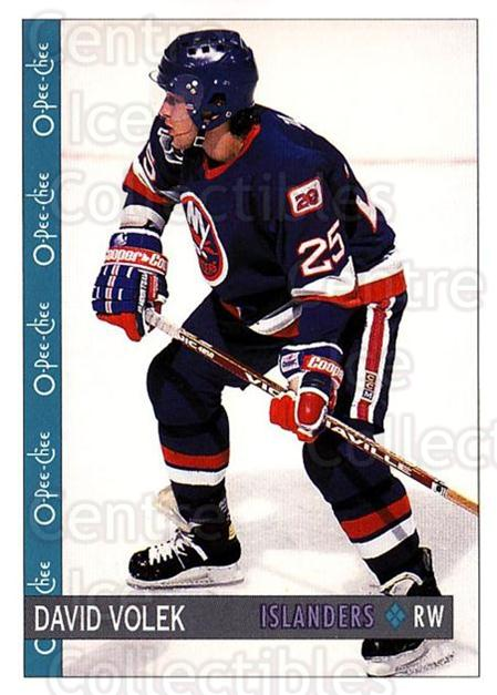 1992-93 O-Pee-Chee #3 David Volek<br/>4 In Stock - $1.00 each - <a href=https://centericecollectibles.foxycart.com/cart?name=1992-93%20O-Pee-Chee%20%233%20David%20Volek...&quantity_max=4&price=$1.00&code=254498 class=foxycart> Buy it now! </a>