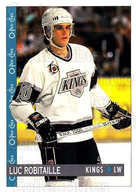 1992-93 O-Pee-Chee #6 Luc Robitaille<br/>2 In Stock - $1.00 each - <a href=https://centericecollectibles.foxycart.com/cart?name=1992-93%20O-Pee-Chee%20%236%20Luc%20Robitaille...&quantity_max=2&price=$1.00&code=254501 class=foxycart> Buy it now! </a>