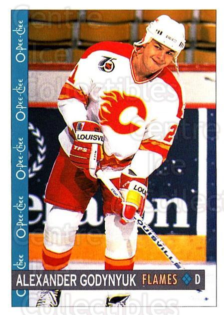 1992-93 O-Pee-Chee #10 Alexander Godynyuk<br/>2 In Stock - $1.00 each - <a href=https://centericecollectibles.foxycart.com/cart?name=1992-93%20O-Pee-Chee%20%2310%20Alexander%20Godyn...&quantity_max=2&price=$1.00&code=254505 class=foxycart> Buy it now! </a>