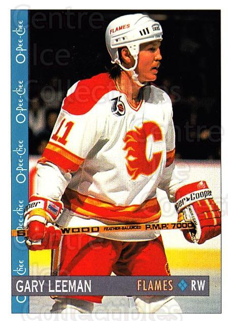 1992-93 O-Pee-Chee #33 Gary Leeman<br/>6 In Stock - $1.00 each - <a href=https://centericecollectibles.foxycart.com/cart?name=1992-93%20O-Pee-Chee%20%2333%20Gary%20Leeman...&quantity_max=6&price=$1.00&code=254528 class=foxycart> Buy it now! </a>