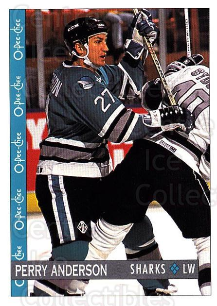 1992-93 O-Pee-Chee #38 Perry Anderson<br/>6 In Stock - $1.00 each - <a href=https://centericecollectibles.foxycart.com/cart?name=1992-93%20O-Pee-Chee%20%2338%20Perry%20Anderson...&quantity_max=6&price=$1.00&code=254533 class=foxycart> Buy it now! </a>