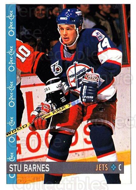 1992-93 O-Pee-Chee #39 Stu Barnes<br/>5 In Stock - $1.00 each - <a href=https://centericecollectibles.foxycart.com/cart?name=1992-93%20O-Pee-Chee%20%2339%20Stu%20Barnes...&quantity_max=5&price=$1.00&code=254534 class=foxycart> Buy it now! </a>