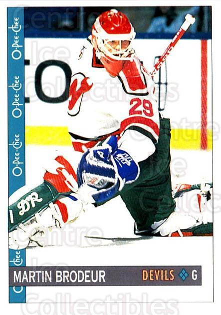 1992-93 O-Pee-Chee #59 Martin Brodeur<br/>2 In Stock - $2.00 each - <a href=https://centericecollectibles.foxycart.com/cart?name=1992-93%20O-Pee-Chee%20%2359%20Martin%20Brodeur...&price=$2.00&code=254554 class=foxycart> Buy it now! </a>