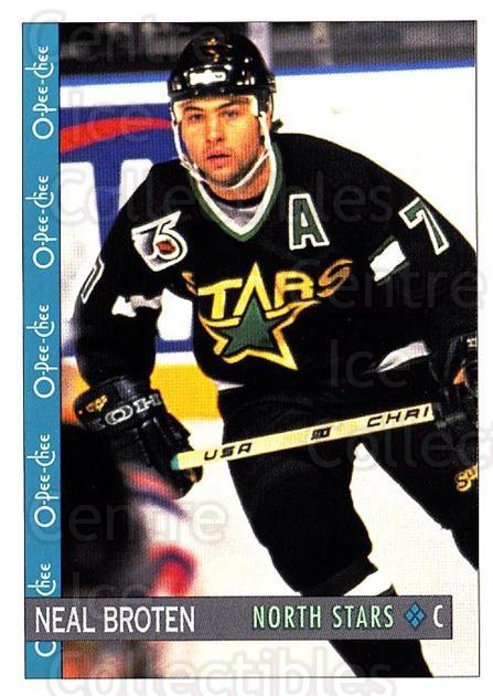 1992-93 O-Pee-Chee #62 Neal Broten<br/>6 In Stock - $1.00 each - <a href=https://centericecollectibles.foxycart.com/cart?name=1992-93%20O-Pee-Chee%20%2362%20Neal%20Broten...&quantity_max=6&price=$1.00&code=254557 class=foxycart> Buy it now! </a>