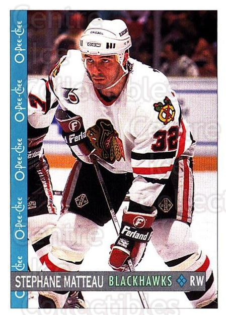 1992-93 O-Pee-Chee #69 Stephane Matteau<br/>2 In Stock - $1.00 each - <a href=https://centericecollectibles.foxycart.com/cart?name=1992-93%20O-Pee-Chee%20%2369%20Stephane%20Mattea...&quantity_max=2&price=$1.00&code=254564 class=foxycart> Buy it now! </a>