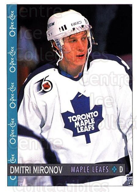 1992-93 O-Pee-Chee #71 Dmitri Mironov<br/>2 In Stock - $1.00 each - <a href=https://centericecollectibles.foxycart.com/cart?name=1992-93%20O-Pee-Chee%20%2371%20Dmitri%20Mironov...&quantity_max=2&price=$1.00&code=254566 class=foxycart> Buy it now! </a>