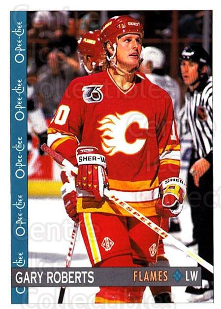 1992-93 O-Pee-Chee #72 Gary Roberts<br/>6 In Stock - $1.00 each - <a href=https://centericecollectibles.foxycart.com/cart?name=1992-93%20O-Pee-Chee%20%2372%20Gary%20Roberts...&quantity_max=6&price=$1.00&code=254567 class=foxycart> Buy it now! </a>