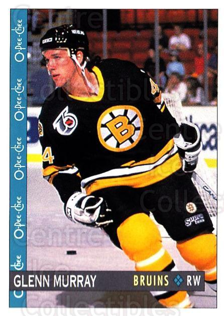 1992-93 O-Pee-Chee #74 Glen Murray<br/>5 In Stock - $1.00 each - <a href=https://centericecollectibles.foxycart.com/cart?name=1992-93%20O-Pee-Chee%20%2374%20Glen%20Murray...&quantity_max=5&price=$1.00&code=254569 class=foxycart> Buy it now! </a>