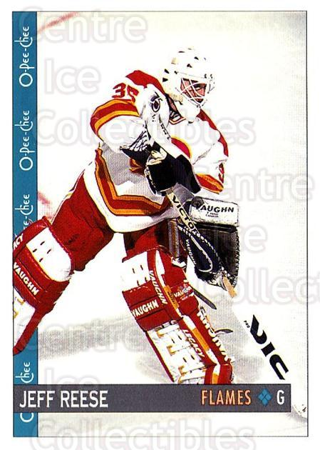 1992-93 O-Pee-Chee #77 Jeff Reese<br/>6 In Stock - $1.00 each - <a href=https://centericecollectibles.foxycart.com/cart?name=1992-93%20O-Pee-Chee%20%2377%20Jeff%20Reese...&quantity_max=6&price=$1.00&code=254572 class=foxycart> Buy it now! </a>