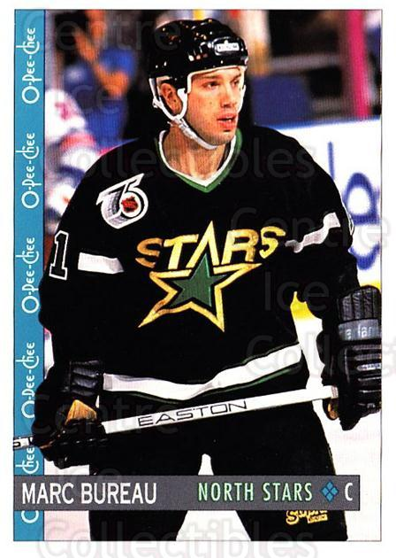 1992-93 O-Pee-Chee #78 Marc Bureau<br/>6 In Stock - $1.00 each - <a href=https://centericecollectibles.foxycart.com/cart?name=1992-93%20O-Pee-Chee%20%2378%20Marc%20Bureau...&quantity_max=6&price=$1.00&code=254573 class=foxycart> Buy it now! </a>