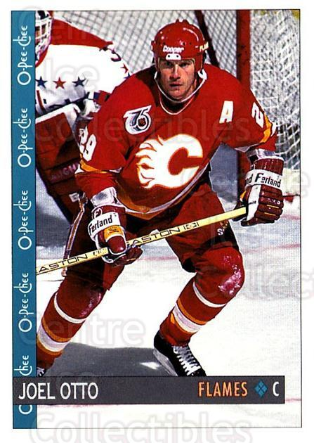 1992-93 O-Pee-Chee #82 Joel Otto<br/>6 In Stock - $1.00 each - <a href=https://centericecollectibles.foxycart.com/cart?name=1992-93%20O-Pee-Chee%20%2382%20Joel%20Otto...&quantity_max=6&price=$1.00&code=254577 class=foxycart> Buy it now! </a>