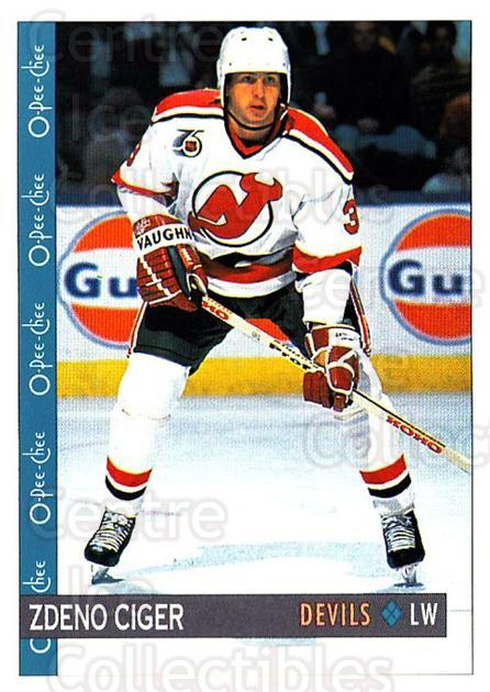 1992-93 O-Pee-Chee #88 Zdeno Ciger<br/>2 In Stock - $1.00 each - <a href=https://centericecollectibles.foxycart.com/cart?name=1992-93%20O-Pee-Chee%20%2388%20Zdeno%20Ciger...&quantity_max=2&price=$1.00&code=254583 class=foxycart> Buy it now! </a>