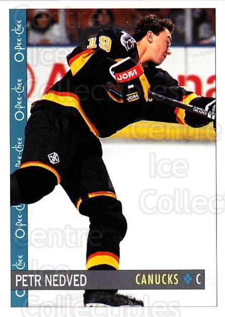 1992-93 O-Pee-Chee #89 Petr Nedved<br/>4 In Stock - $1.00 each - <a href=https://centericecollectibles.foxycart.com/cart?name=1992-93%20O-Pee-Chee%20%2389%20Petr%20Nedved...&quantity_max=4&price=$1.00&code=254584 class=foxycart> Buy it now! </a>