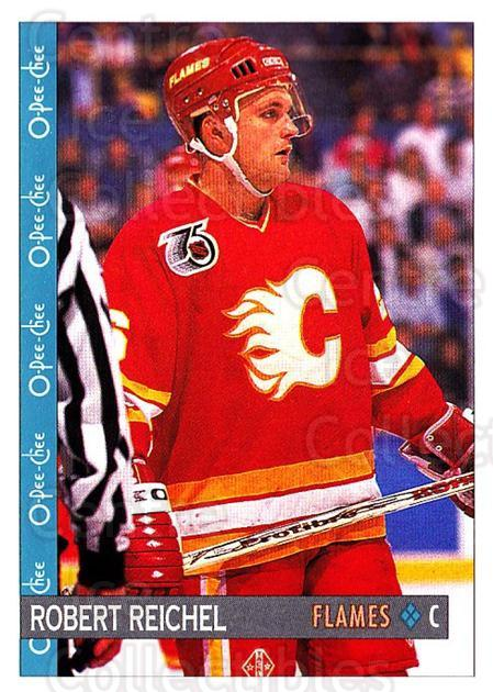 1992-93 O-Pee-Chee #93 Robert Reichel<br/>6 In Stock - $1.00 each - <a href=https://centericecollectibles.foxycart.com/cart?name=1992-93%20O-Pee-Chee%20%2393%20Robert%20Reichel...&quantity_max=6&price=$1.00&code=254588 class=foxycart> Buy it now! </a>