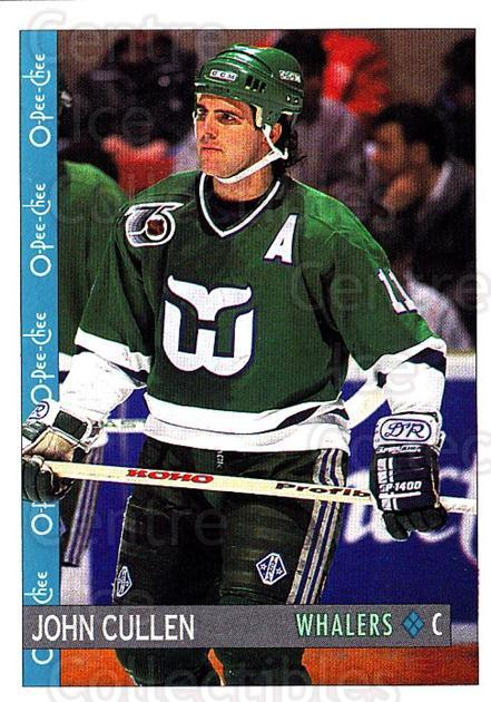 1992-93 O-Pee-Chee #104 John Cullen<br/>7 In Stock - $1.00 each - <a href=https://centericecollectibles.foxycart.com/cart?name=1992-93%20O-Pee-Chee%20%23104%20John%20Cullen...&quantity_max=7&price=$1.00&code=254599 class=foxycart> Buy it now! </a>